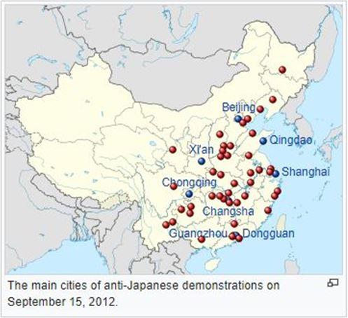 China, Chinese Nationalism, Japan, Communist Party of China